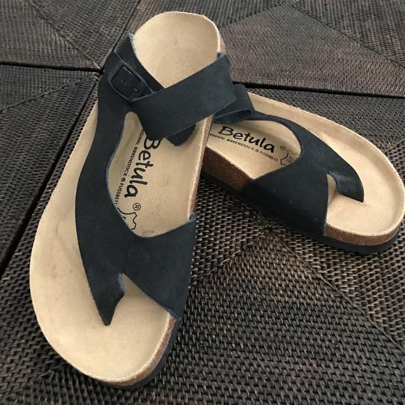 80652215f64f Birkenstock Shoes - Birkenstock Betula Slip-on Thong Sandal EU 38 US 7